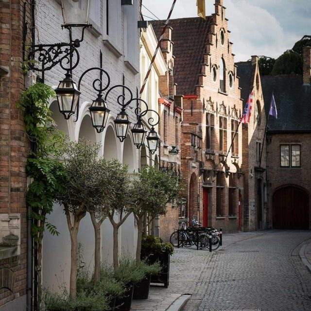 Getting lost down streets like these in Bruges is nothellip
