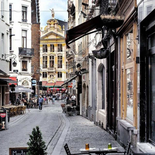 Theres no knowing where the cobbled streets of Brussels mayhellip