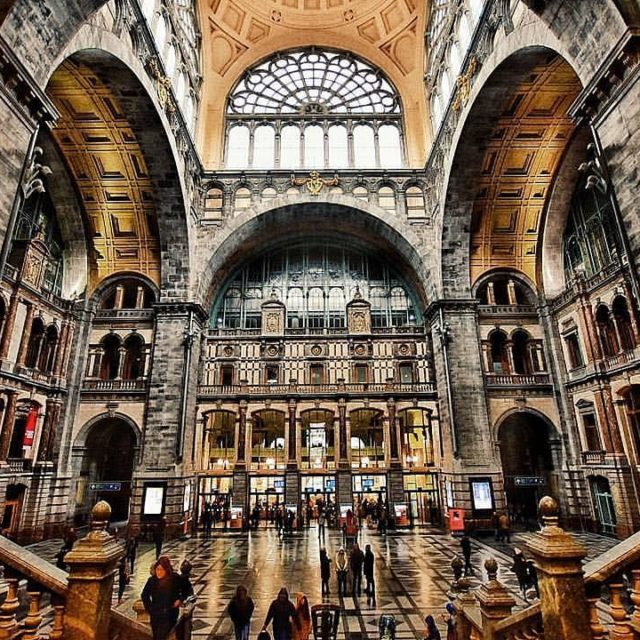 Best way to arrive in Antwerp? By train in thishellip