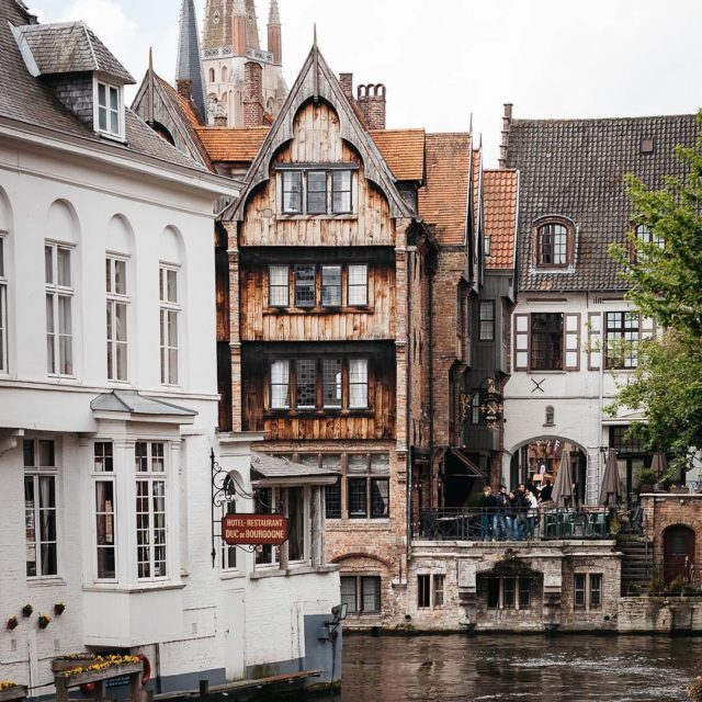 Bruges oozes charm Quaint waterways historic wooden houses and Gothichellip