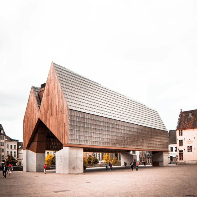 The city pavilion in Ghent is an architectural masterpiece hosthellip