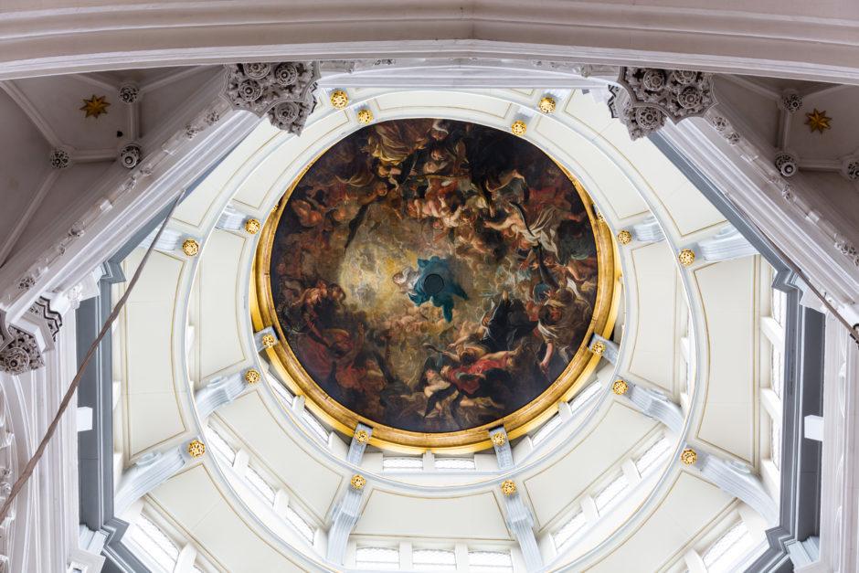 Deckenmalerei in der Liebfrauenkirche