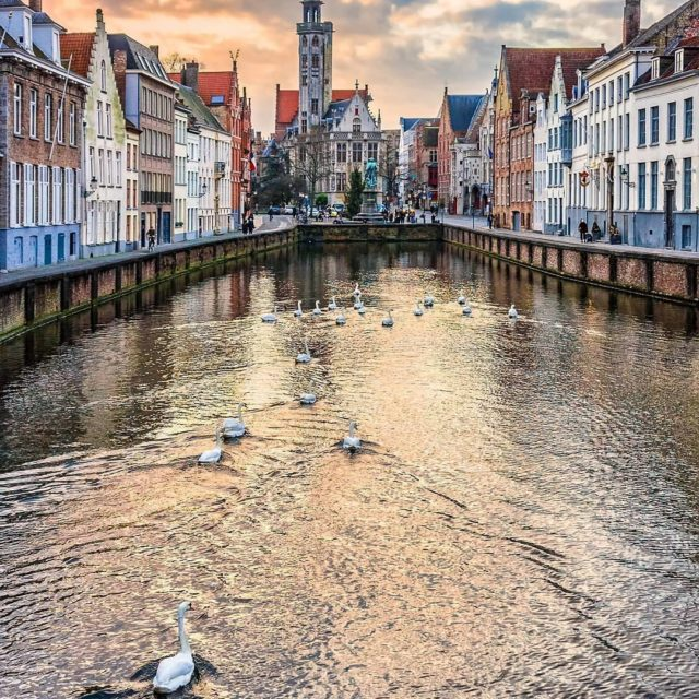 Heres a taste of Bruges beauty all in one photohellip