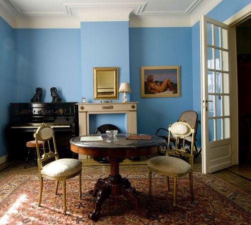 Wie der Maler gewohnt hat - Blick in das Magritte Haus