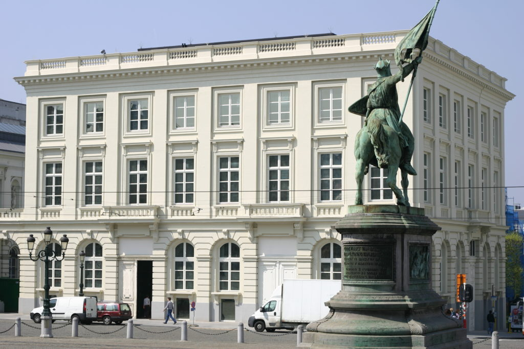 Das Magritte-Museum in Brüssel