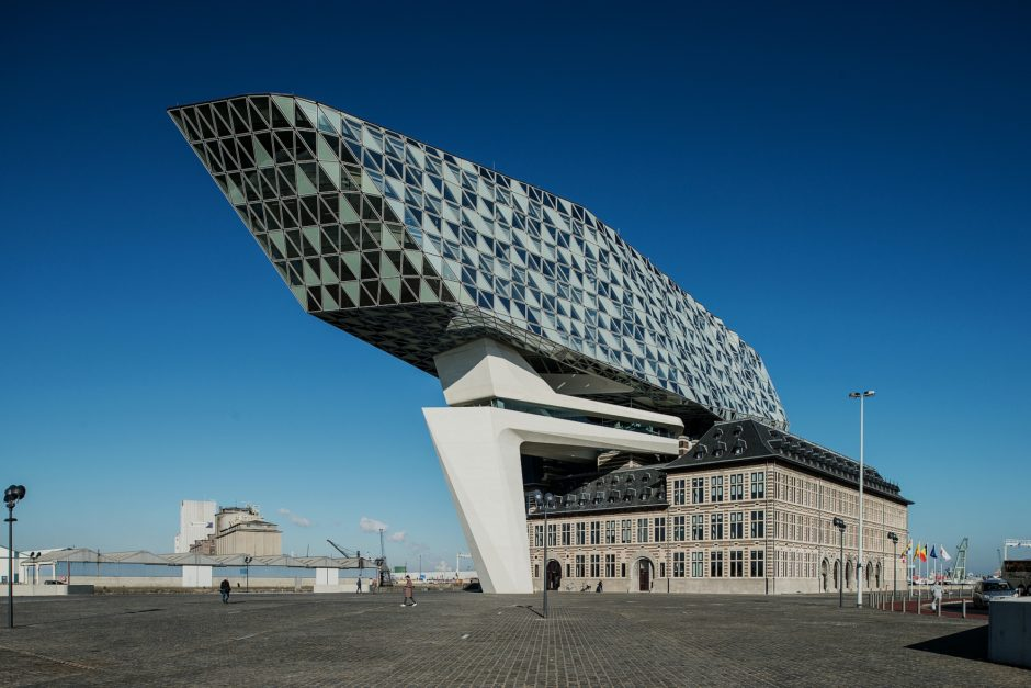 Havenhuis Antwerpen, © Zaha Hadid Architects