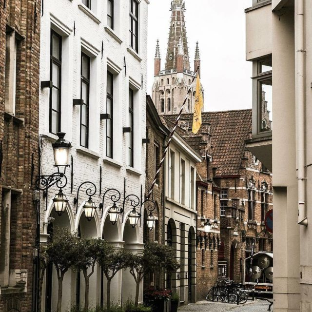 Seek out hidden streets in Bruges youll be rewarded withhellip