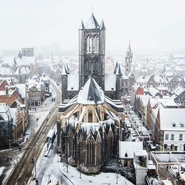 Its been snowing in Flanders!  Have you visited Belgiumhellip