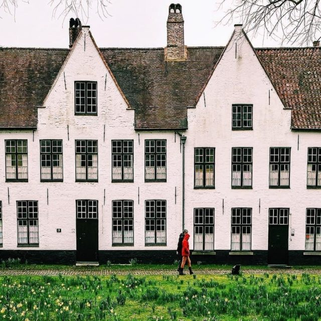 Did you know that Bruges beguinage is still inhabitedby nunshellip