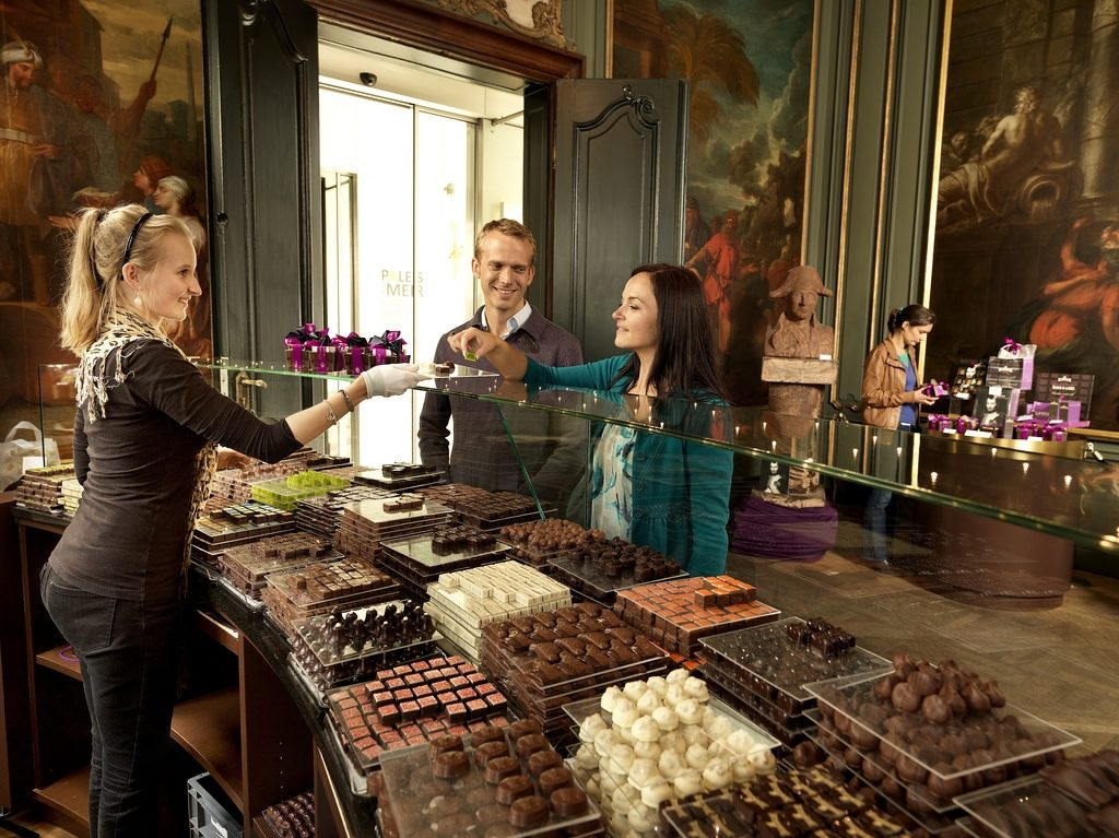 Chocolate Line Antwerpen, © milo profi