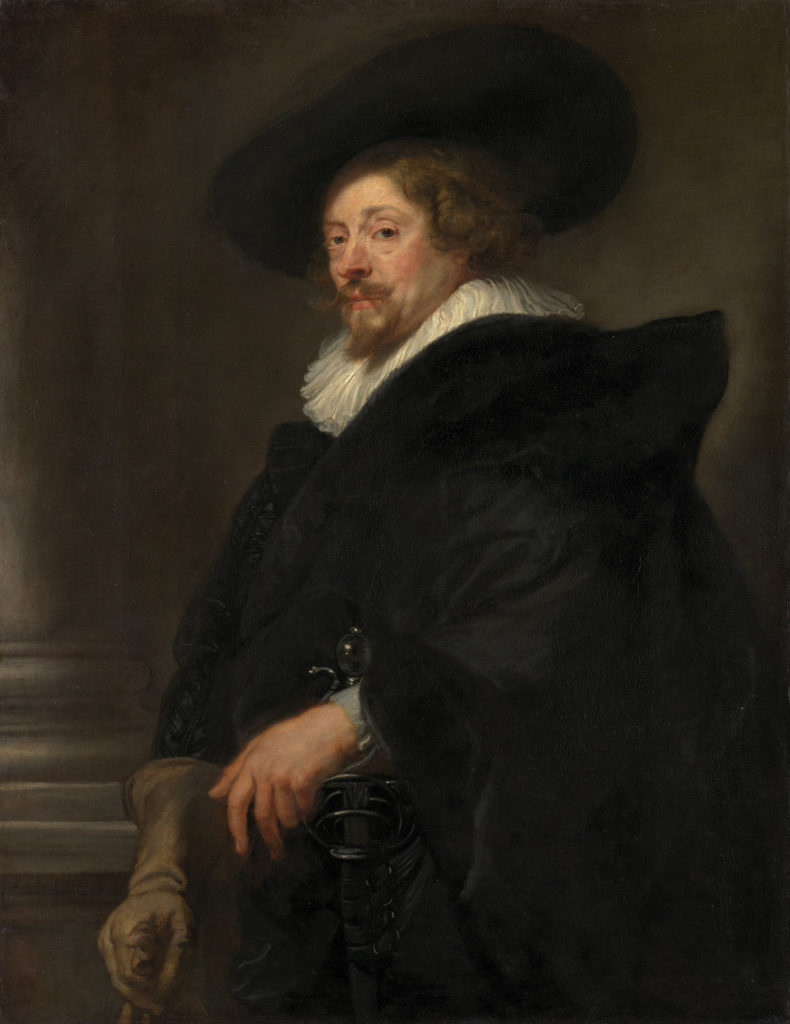 Peter Paul Rubens, Selbstprotrait, Um 1638, © Kunsthistorisches Museum, Gemäldegalerie, Wien © KHM-Museumsverband
